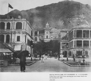 1865年頃のセントラル地区ペッダー通り。
