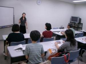 広東語講座の様子